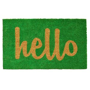 Groesbeck Hello Doormat