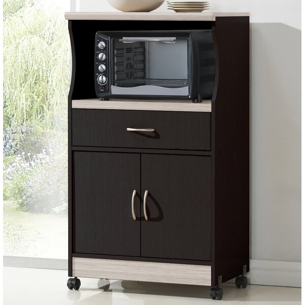 Wade Logan Mae Microwave Cart Amp Reviews Wayfair