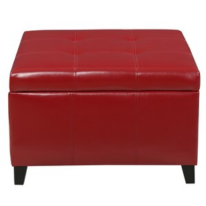 Great Massey Faux Leather Storage Ottoman
