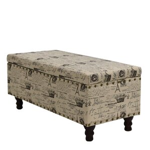 Cleo Storage Bench Ottoman by Wildon Home ?