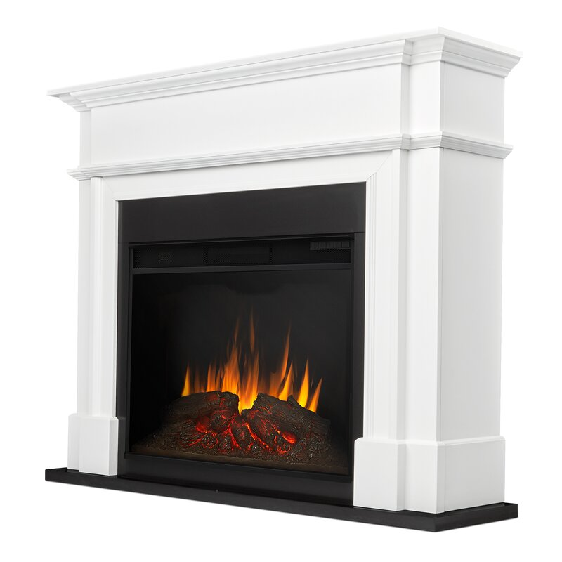 Real Flame Harlan Grand Electric Fireplace Amp Reviews Wayfair