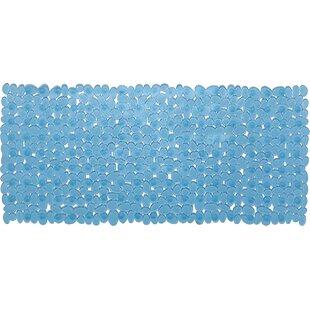 Pebbles Non Slip Anti Bacterial PVC Rectangle Bathtub Mat