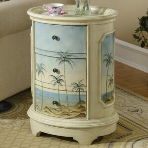 Olosega End Table With Storage by Coast to Coast Imports LLC