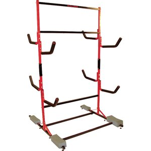 FS Rack System 6 Kayak Storage Freestanding Kayak Rack