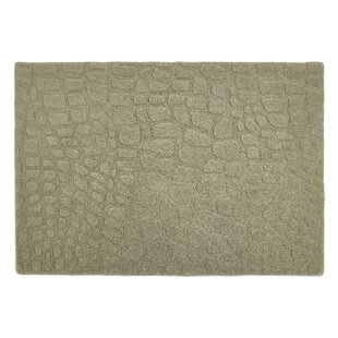 Hand Tufted Wool Taupe Rug by Longweave
