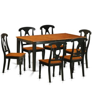 Cleobury Traditional 7 Piece Wood Dining Set
