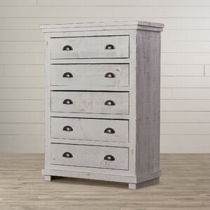 Castagnier 5 Drawer Chest by Lark Manor