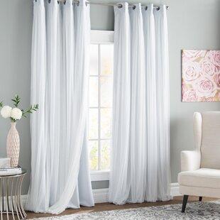 465c4951685 White Cotton Grommet Curtains