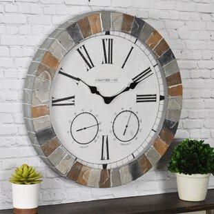 Indoor Outdoor Quartz Movement Crystal Wall Clocks You