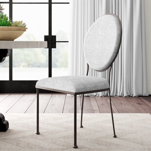 Cairo Oval Back Upholstered Dining Chair