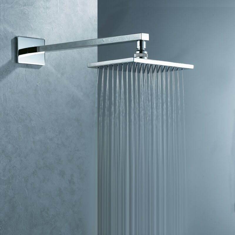 Rain Shower Head artos safire wall mount rain shower head & reviews | wayfair