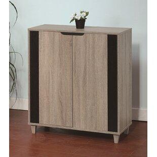 Wooden Entryway Shoe Storage Cabinet