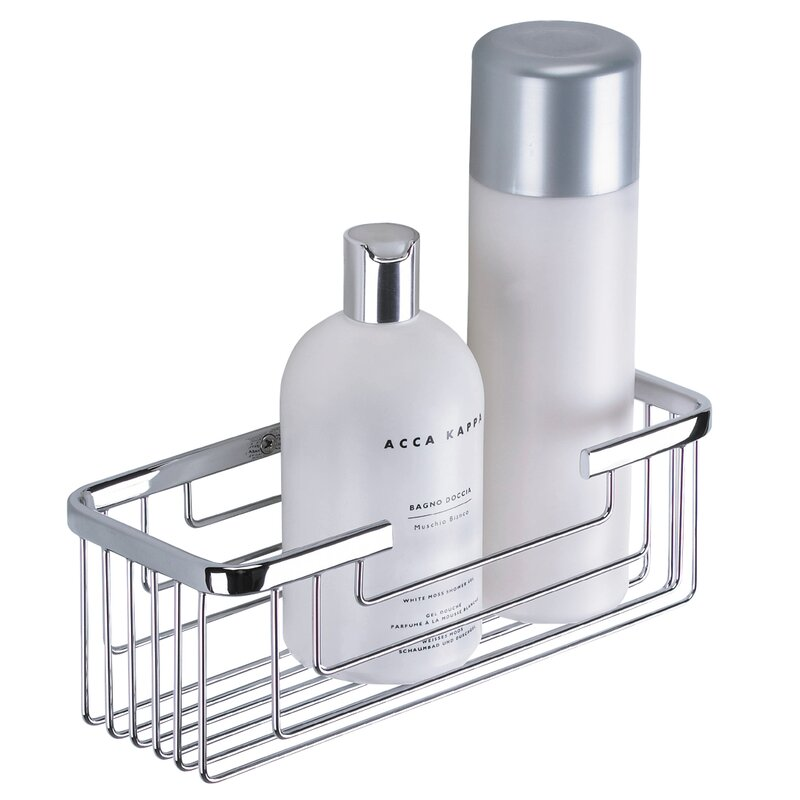 Belfry Bathroom Thomasina Metal Wall Mounted Shower Caddy & Reviews ...