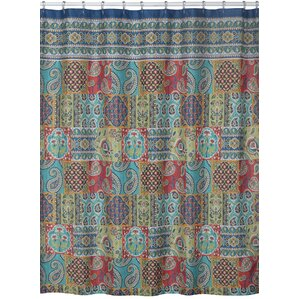 sasha polyester shower curtain
