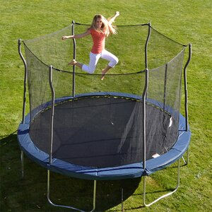 Kinetic 12' Round Trampoline and Safety Enclosure