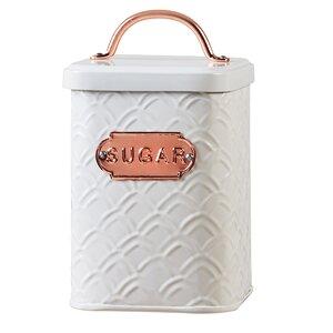 1.88 qt. Metal Sugar Jar