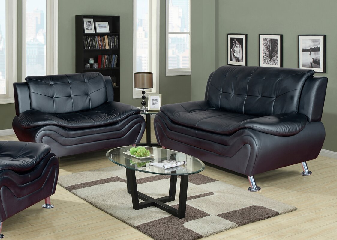 Cheap Leather Living Room Set