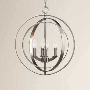 Morganti 4 Light Globe Pendant