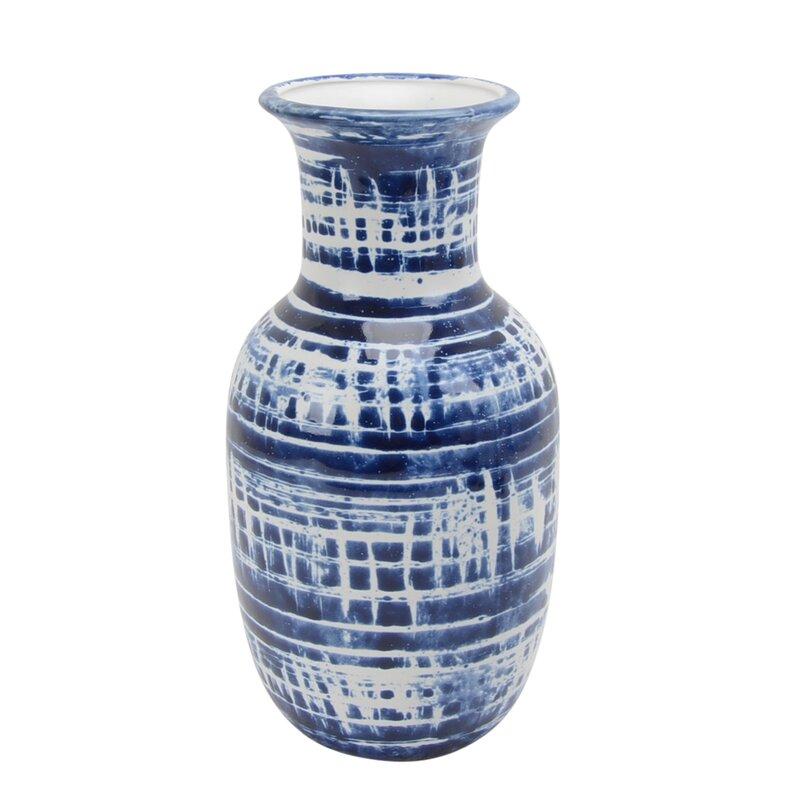 Kiley Ceramic Table Vase   Joss & Main