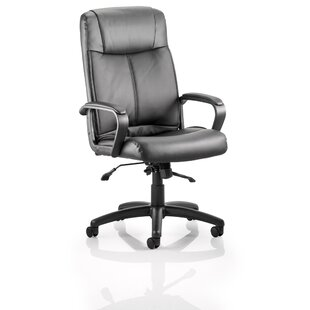 Poros High Back Leather Executive Chair