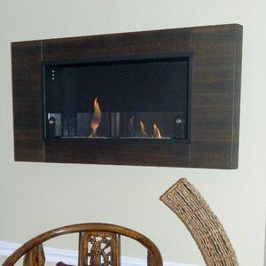 Caherty Finestra Duu00e9 Wall Mounted Bio-Ethanol Fireplace