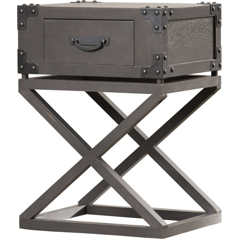 Good Agoura Hills Dunstan End Table With Storage