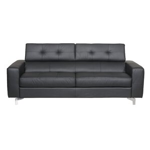 Berends Leather Sleeper Sofa by Latitude Run