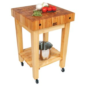 BoosBlock Prep Table with Butcher Block Top by John Boos