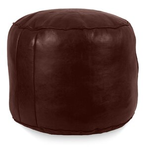 Neasa�Fez Leather Ottoman by Ivy Bronx