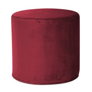 Mattingly No-Tip Cylinder Ottoman by Red Barrel Studio