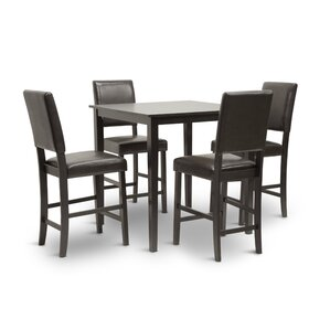 Love 5 Piece Dining Set by Wholesale Interiors