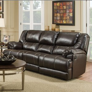 Simmons Upholstery Starr Motion Reclining Sofa by Darby Home Co