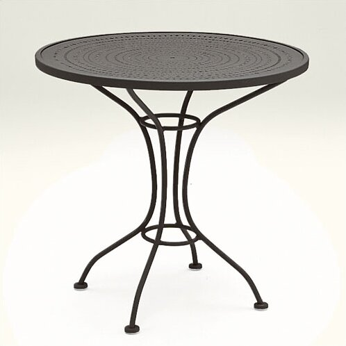 Parisienne 30 Round Wrought Iron Dining Table