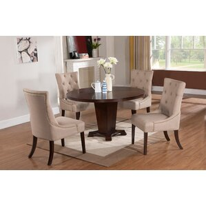 Tory 5 Piece Solid Wood Modern Dining Set by Darby Home Co