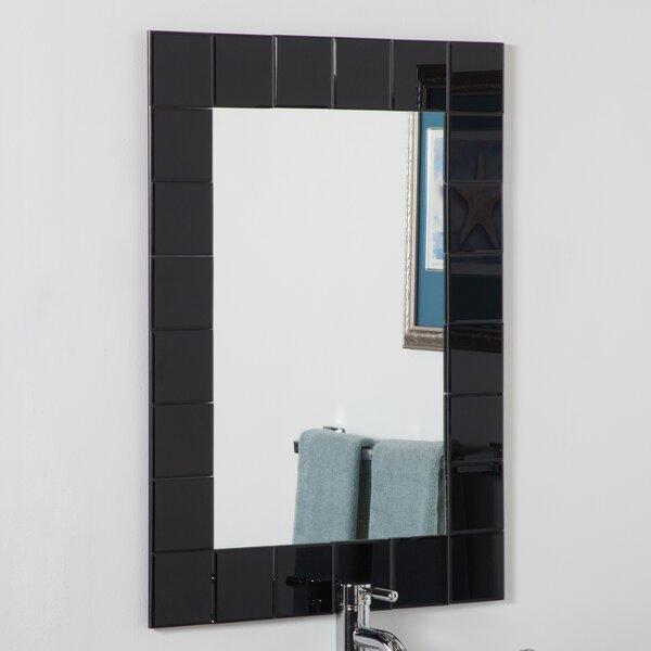 Montreal modern wall mirror reviews allmodern - Bathroom mirrors montreal ...