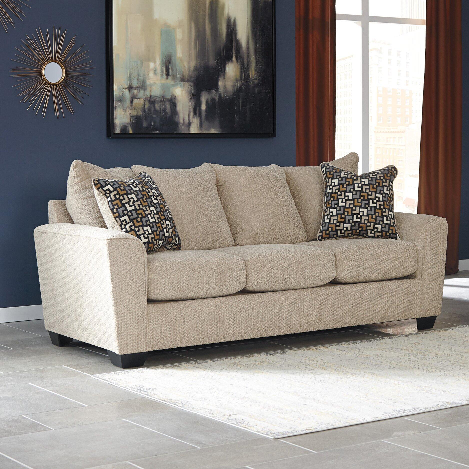 Outstanding Wixon Sleeper Sofa Benchcraft Wixon Sleeper Sofa Wayfair Machost Co Dining Chair Design Ideas Machostcouk