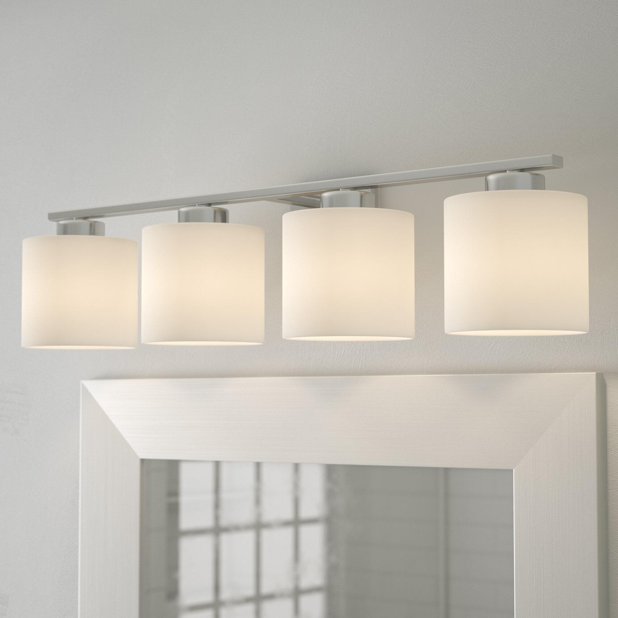 Zipcode design cedartown 4 light vanity light reviews wayfair