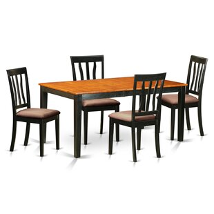 5 Piece Extendable Dining Set