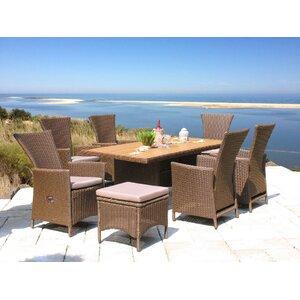 6-Sitzer Gartengarnitur Ibiza mit Polster von Grasekamp