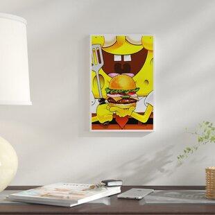 Spongebob squarepants wayfair spongebob squarepants vintage advertisement on canvas aloadofball Choice Image