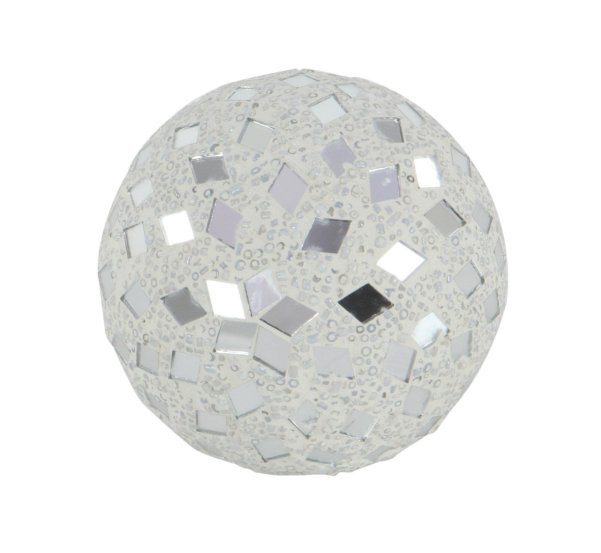 Cole Grey Mirror Mosaic Decorative Ball Reviews