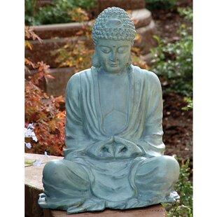 large garden buddha statue - Large Garden Statues