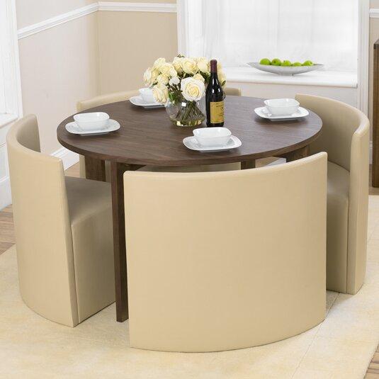 home etc essgruppe osvaldo mit 4 st hlen bewertungen. Black Bedroom Furniture Sets. Home Design Ideas