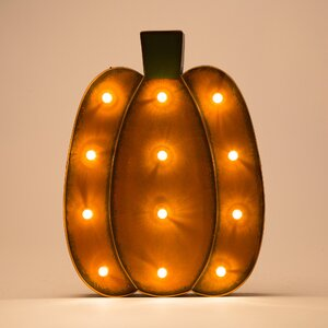 Marquee LED Pumpkin