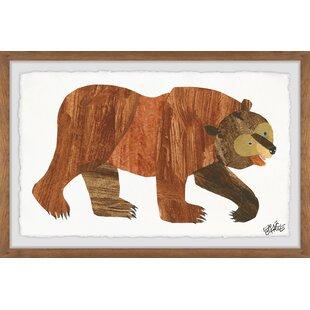 Wendell 'Brown Bear' Framed Art by Viv   Rae