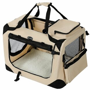 Barling Folding Portable Soft Fabric Pet Carrier by Archie & Oscar