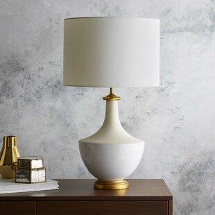 White table lamps youll love wayfair dorinda table lamp aloadofball Gallery