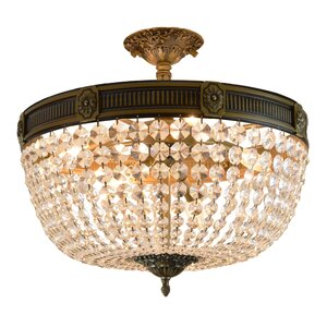 Reimer 6-Light Semi Flush Mount