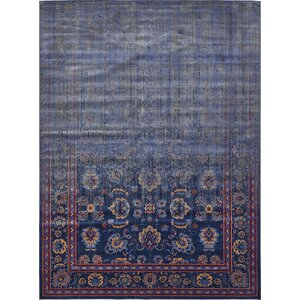 Florence Navy Blue/Gray Area Rug
