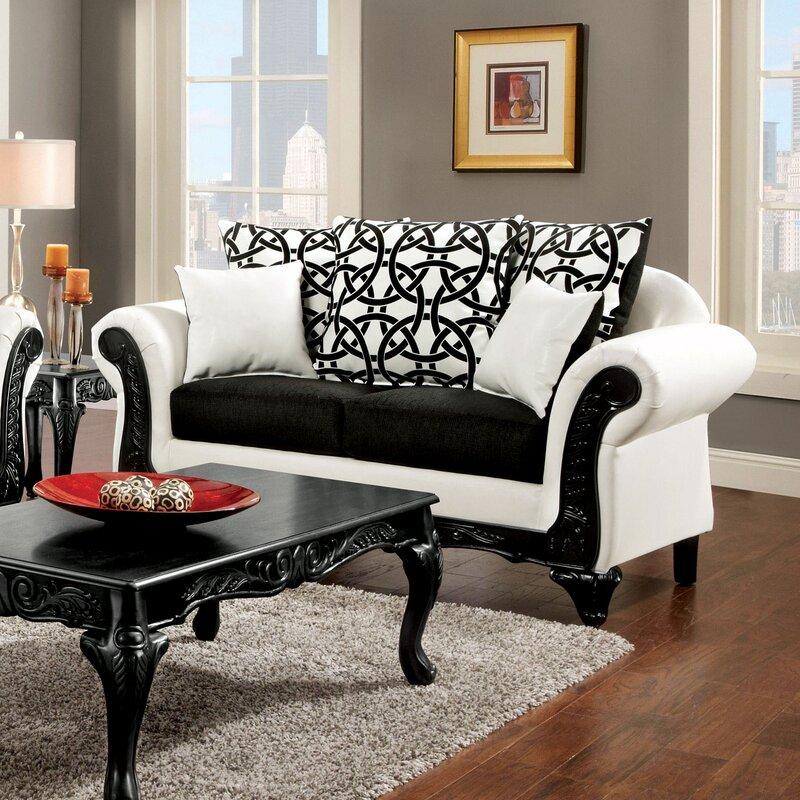Hokku Designs Reylan Configurable Living Room Set